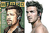Who Looks Hotter With His Bluetooth — Brad Pitt or David Beckham?
