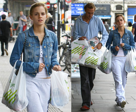 Photos of Emma Watson Grocery Shopping
