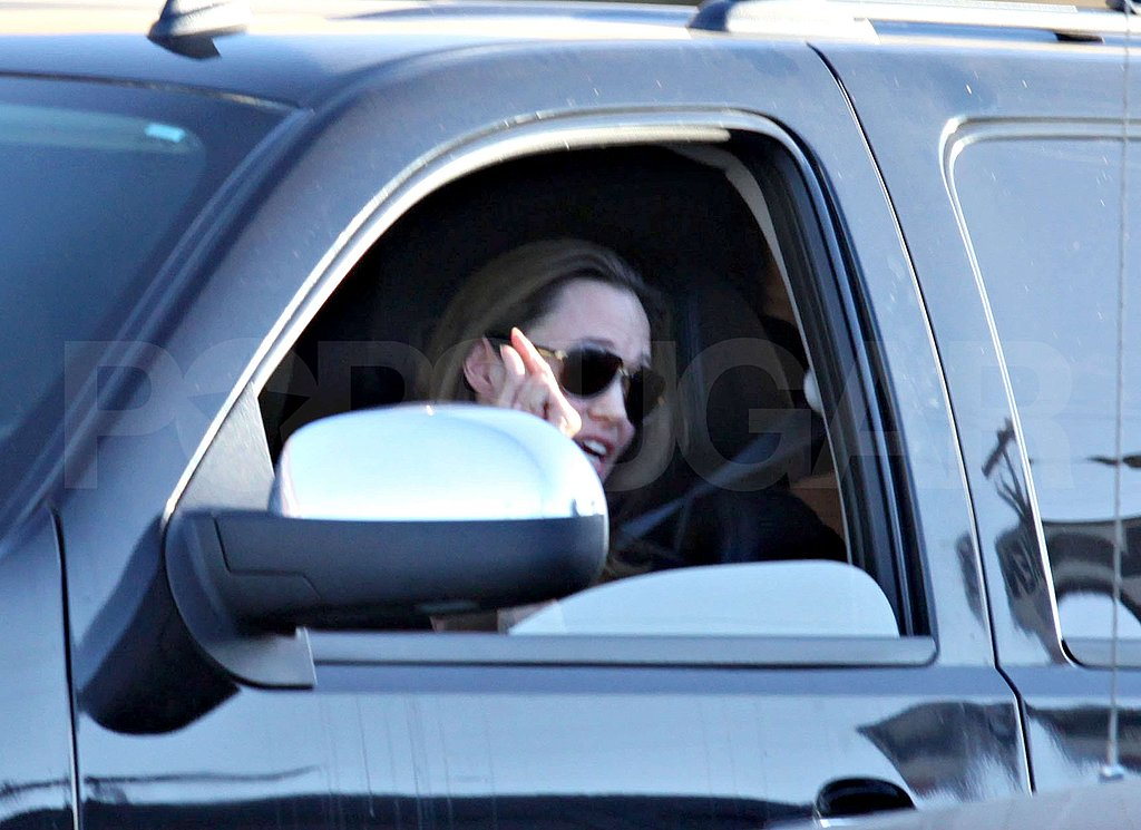 Photos of Angelina Jolie and Brad Pitt in LA