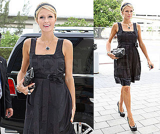Photos of Paris Hilton Arriving in Miami Court to Testify