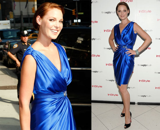 Photos of Katherine Heigl in Blue