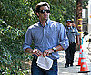 Photo Slide of Patrick Dempsey Leaving the LA Set of Valentine's Day