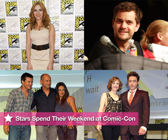Stars Spend Their Weekend at Comic-Con