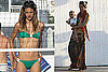 Photos of Alessandra Ambrosio and Baby 