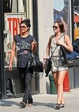 Photos of Leighton Meester and Jessica Szohr Shopping and Eating