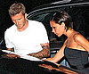 Photo Slide of David and Victoria Beckham Leaving LA's Hyde Nightclub
