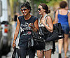 Photo Slide of Leighton Meester and Jessica Szohr Shopping Together in NYC