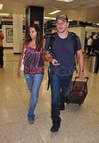 Photos of Matt Damon at Miami Airport