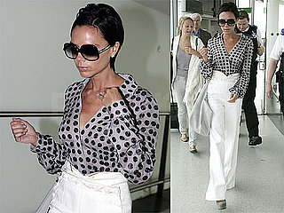 Photos of Victoria Beckham at Heathrow 2009-07-21 09:00:56