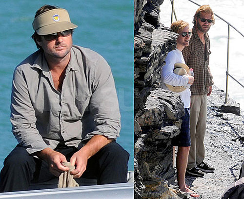 Photos of Andrew Wilson, Luke Wilson, Owen Wilson on Vacation in Italy