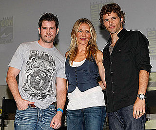 Photo Slide of Cameron Diaz, James Marsden and Richard Kelly Promoting The Box at Comic-Con