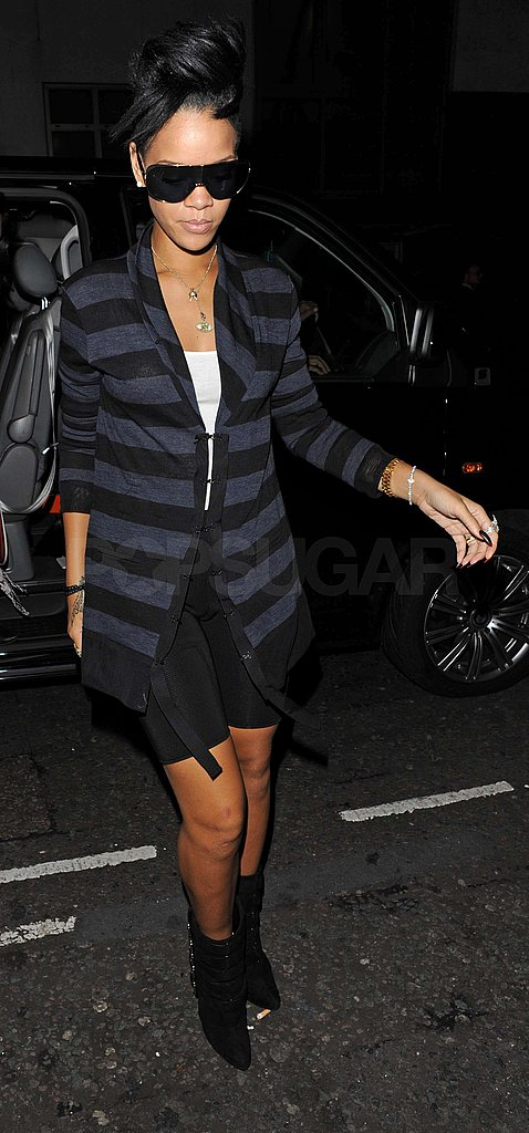 Photos of Rihanna in London