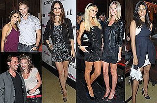 Photos of Kellan Lutz, Nikki Reed, Pregnant Camila Alves, Paris Hilton, AnnaLynne McCord, Rachel Bilson at Express Party