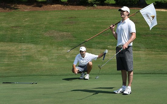 Photos of Justin Timberlake Playing Golf