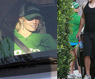Photos of Jessica Simpson Hitting The Gym