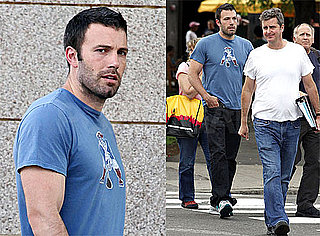 Photos of Ben Affleck Walking Around Boston After News He's Filming and Directing The Town