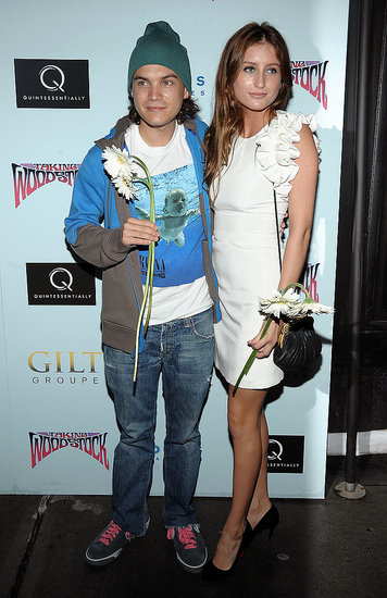 Photos of Emile Hirsch at the Taking Woodstock Premiere