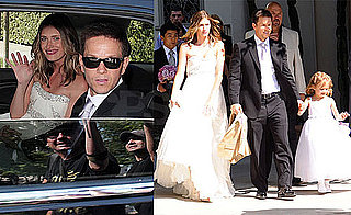 Photos of Mark Wahlberg and Rhea Durham at Their Wedding in LA with Children Ella, Michael and Brendan