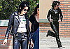 Photos of Kristen Stewart Filming The Runaways