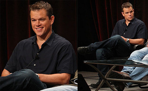 Photos of Matt Damon at 2009 Summer TCA in Pasadena