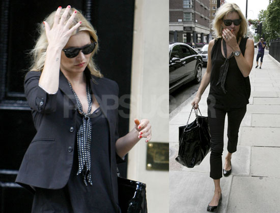 Photos of Kate Moss in London