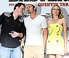 Slide Photo of Brad Pitt, Quentin Tarantino, Diane Kruger at Inglourious Basterds Berlin Photo Call