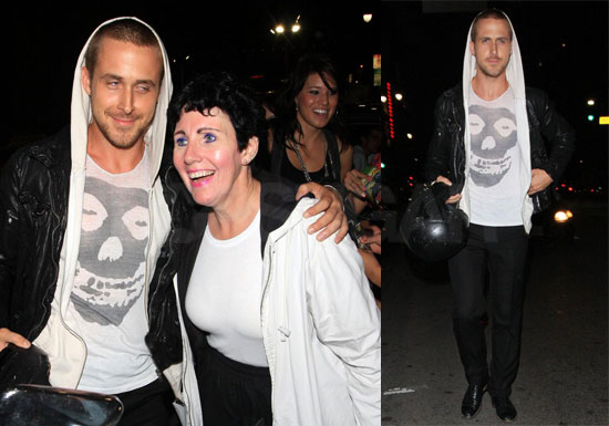 Photos of Ryan Gosling at Bardot