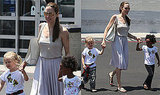 Photos of Angelina Jolie, Zahara and Shiloh at Toys 'R' Us