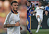 Photos of David Beckham Playing Soccer in Kansas City, Confronting Fan After He Insults Victoria