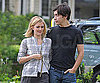 Slide Photo of Justin Long, Drew Barrymore Arm-in-Arm Filming Going the Distance in NYC