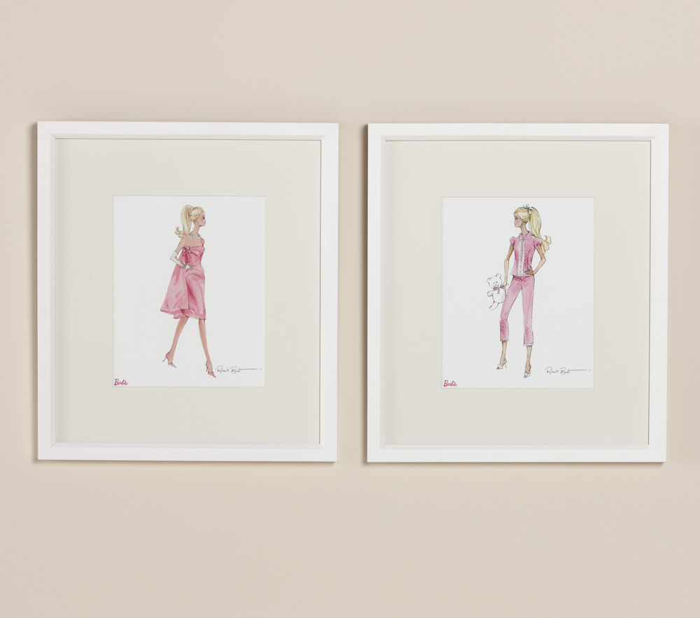 Barbie™ Framed Artwork