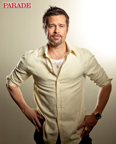 Photos of Brad Pitt in Parade