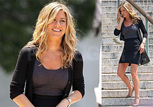 Photos of Jennifer Aniston Who Signed on to Star in Goree Girls, a Prison Movie About Country Band