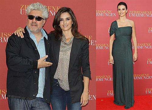 Photos of Penelope Cruz, Pedro Almodovar in Berlin Premiering Broken Embraces, Spokesperson Denies Pregnancy Rumors
