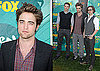Photos of Robert Pattinson, Kellan Lutz, and Jackson Rathbone at the 2009 Teen Choice Awards