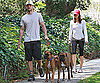 Photo Slide of Justin Timberlake and Jessica Biel in LA