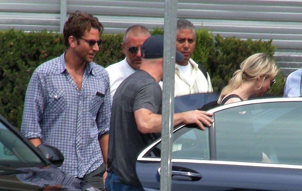 Photos of Renee and Bradley Cooper Sharing a Car