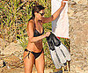 Photo Slide of French First Lady Carla Bruni in a Bikini