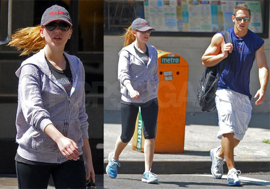 Photos of Scarlett Johansson in NYC