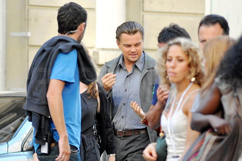 Photos of Leonard DiCaprio in Paris