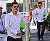 Photos of Orlando Bloom at a Market