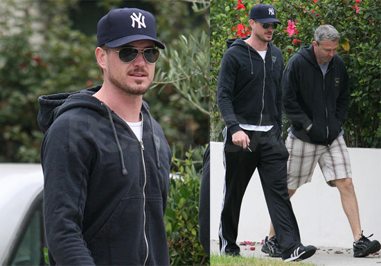 Photos of Eric Dane Leaving Gym