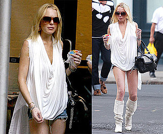 Photos of Lindsay Lohan in NYC After Calling the Cops Over Her Lost Cell Phone