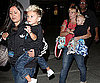 Slide Photo of Kingston and Zuma Rossdale at Gavin's Concert in LA