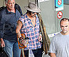 Photo Slide of Johnny Depp Arriving in Nice, France