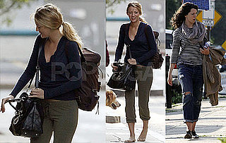 Photos of Blake Lively And Rebecca Hall in Boston to Film The Town