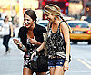 Photos of Whitney Port Filming The City In NYC