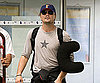 Slide Photo of Leonardo DiCaprio at Nice Airport