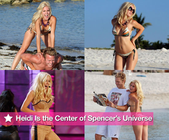 Bikini Photos of Heidi Montag With Shirtless Spencer Pratt in the Bahamas For Miss Universe