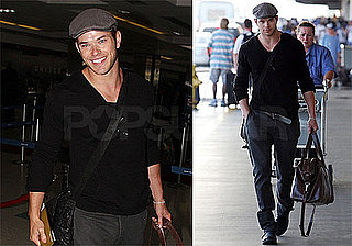 Photos of Kellan Lutz at LAX 2009-08-25 05:00:00